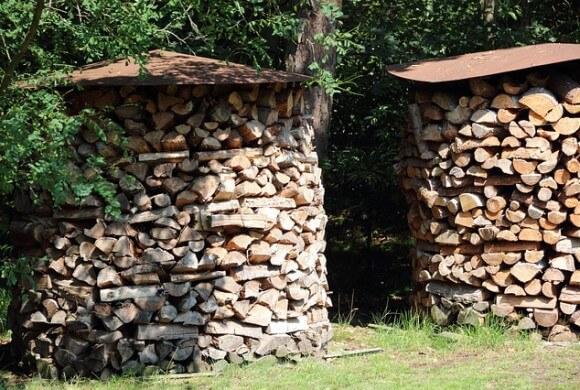 Brennholz richtig lagern – so geht's