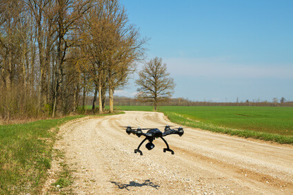 Wälder aufforsten mit ferngesteuerten Drohnen