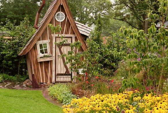 Dein eigenes Gartenhaus aus Holz